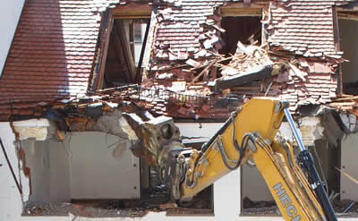Building wrecking demolition services